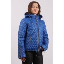 Куртка демисезонная с карманами цвета электрик ОСН60011-4