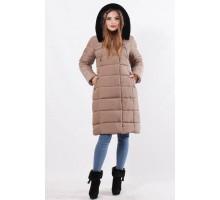 Зимняя куртка 48-58 размеры К-35 Кофе ОСН77706