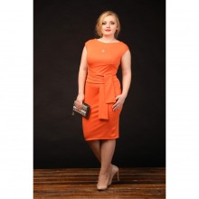 Платье Лондон оранж БЛЕСК800018