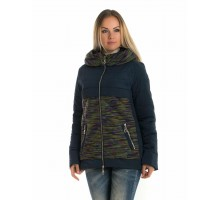 Молодежная короткая куртка ЛАНА118-89