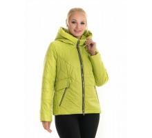Лимонная молодежная куртка демисезонная ЛАНА116-65