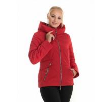 Молодежная куртка красная ЛАНА117-65