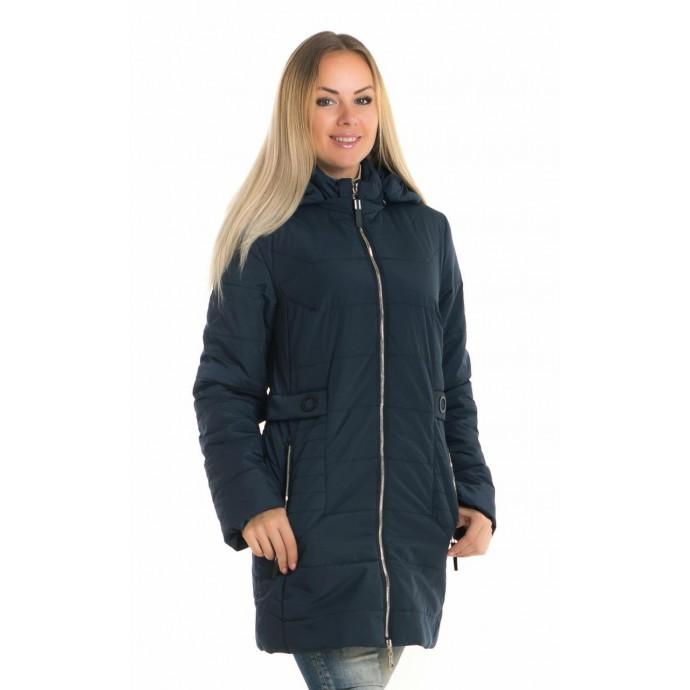 Весенняя куртка синяя ЛАНА106-91