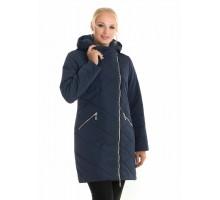 Синяя куртка женская демисезонная ЛАНА109-92