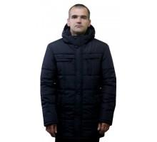 Мужская зимняя куртка черная ЛАНА8-11