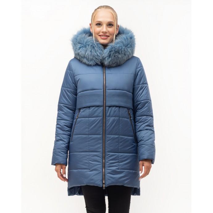 Стильная молодёжная зимняя куртка ЛАНА45S-152