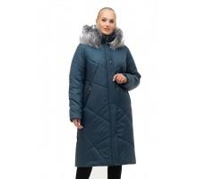 Женское зимнее пальто с мехом ЛАНА14S-150