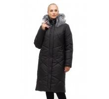 Зимнее пальто с мехом ЛАНА16S-150