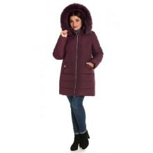 Женская зимняя куртка с мехом ЛАНА6676-49
