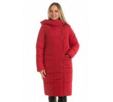 Крассная женская зимняя куртка ЛАНА6667-57