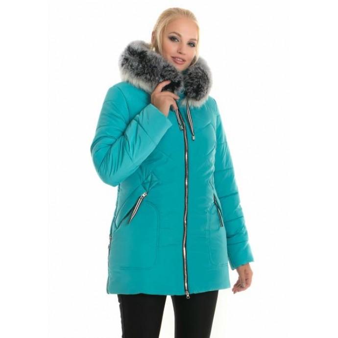 Молодежная женская зимняя куртка ЛАНА66105-58