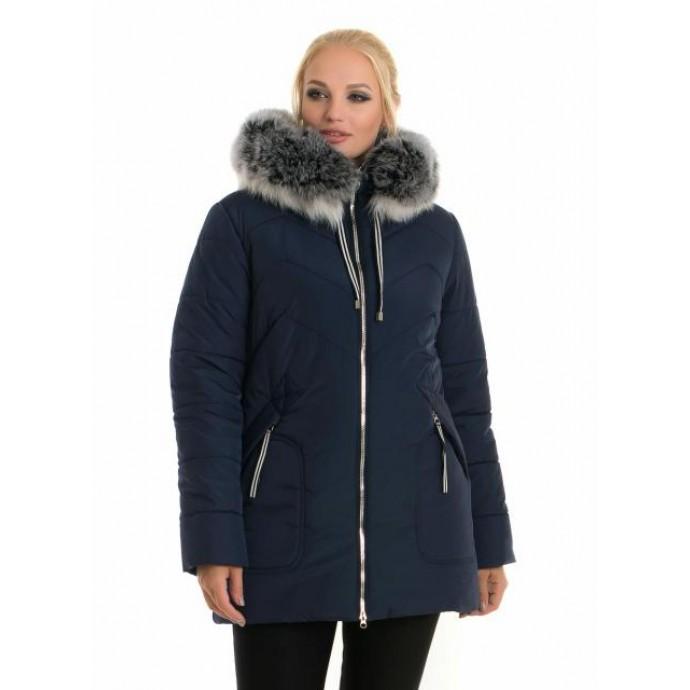 Молодежная женская зимняя куртка ЛАНА66106-58