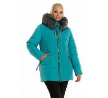 Молодежная женская зимняя куртка ЛАНА66108-58