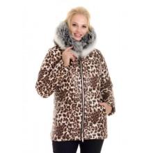 Женская зимняя куртка с мехом ЛАНА6674-46