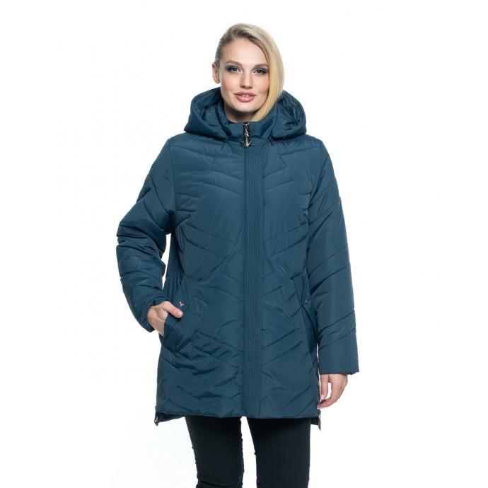 Женская куртка цвет малахит лана17r-104