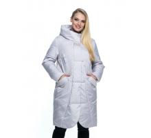 Длинная светлая куртка лана13r-106