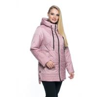 Красивая куртка цвета пудра лана23r-107