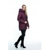 Демисезонная куртка цвет марсал лана24r-107