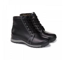 Спортивные зимние ботинки черного цвета КИРА1184-Murena-03n
