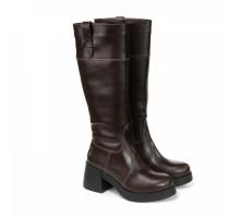 Сапоги зимние коричневые КИРА1125-5249kor
