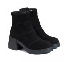 Замшевые демисезонные ботиночки КИРА1192-524-01z