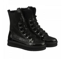 Кожаные ботинки на цигейке КИРА1148-VM-EM-02ch