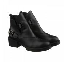 Кожаные женские ботинки КИРА1174-VM-7917-01