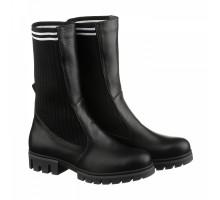 Женские ботинки с трикотажем КИРА1172-VM-TERA-07