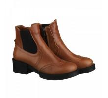 Рыжие демисезонные ботинки КИРА1168-VM-7917-03