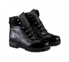 Блестящие ботинки с лаковым носиком КИРА1152-vm-astra-19s
