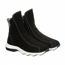 Замшевые ботинки на толстой подошве КИРА1155-VM-396-01