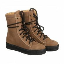 Женские зимние ботинки с клапаном от снега КИРА1176-En-01