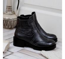 Кожаные зимние ботинки КИРА1147-VM-7917-03ser