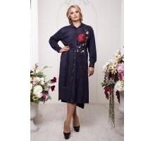 Платье-рубашка с вышивкой РРРА30-22