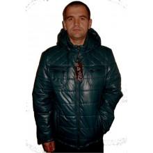 Демисезонная мужская куртка т.зеленая ЛАНА2