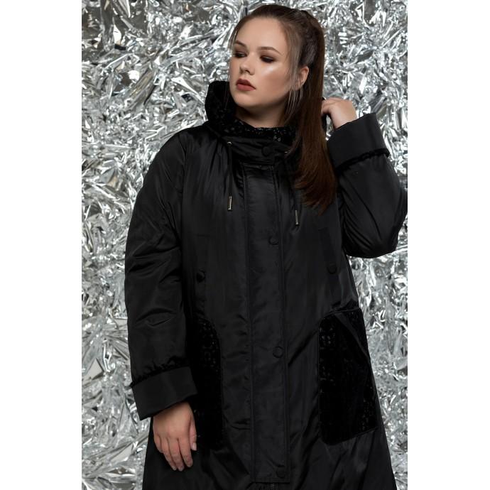 Женский плащ трапеция рк1115r-М-756