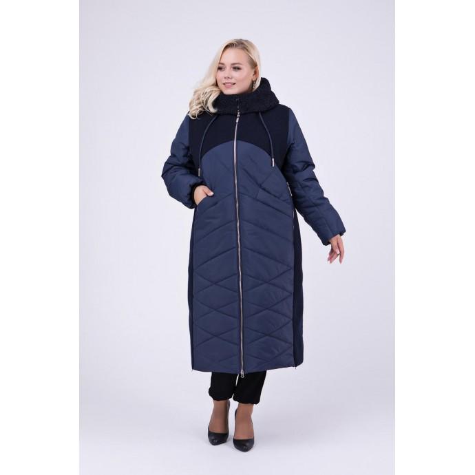 Длинное зимнее пальто РК111148-695
