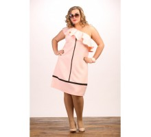 Платье Гламур розовое МИКС707037