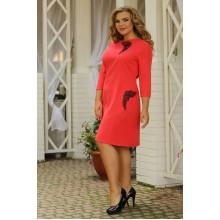 Платье Гранат вышивка РС700012