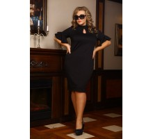 Платье Мадам черный НО19922