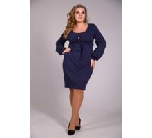 Платье Лика Синий ОП29928