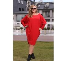 Платье Сальса красный ЯО6061