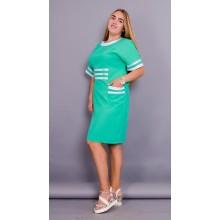 Летнее женское платье Ванесса 50-56 размеры КГР5505