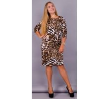 Платье Арина леопард КГР123057