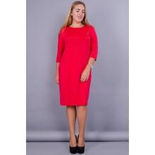 Платье Арина красное КГР123056