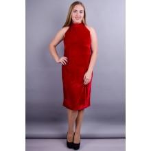Красное платье Донна 50-56 р. КГР123019