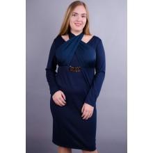 Платье Лиана синее 50-56 р. КГР12309