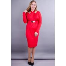 Платье Лиана красное 50-56 р. КГР12308