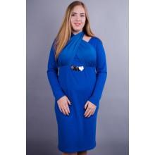 Платье Лиана электрик 50-56 р. КГР123010