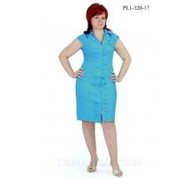 Сарафан голубой НС PL1-320-4